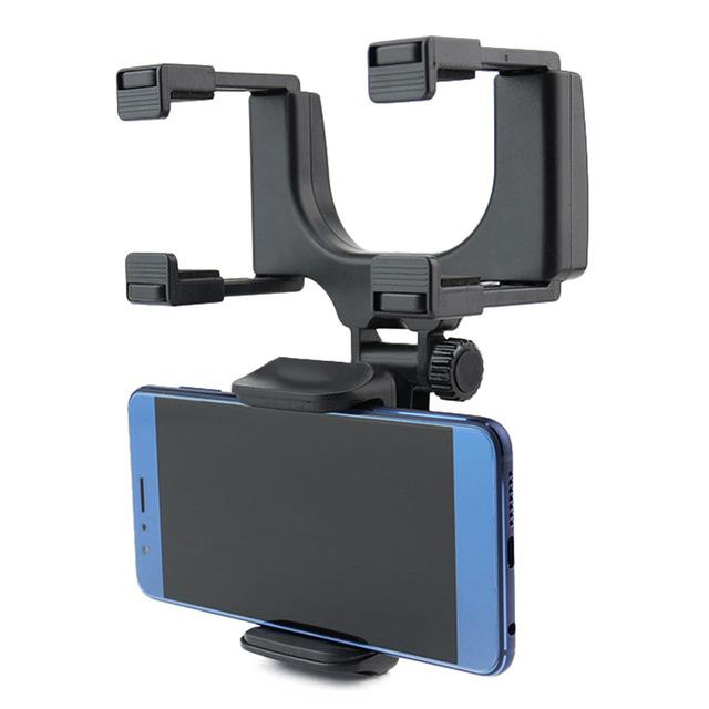 Soporte para celular al espejo retrovisor del vehiculo pc prime - Soportes para espejos ...